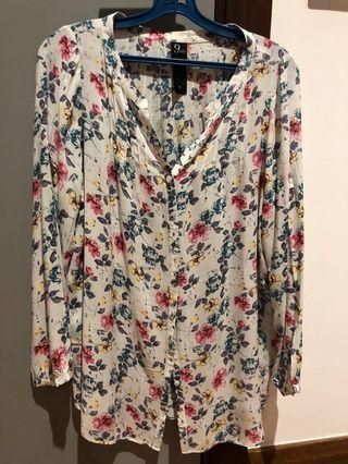 9 months Maternity Long Sleeved Blouse