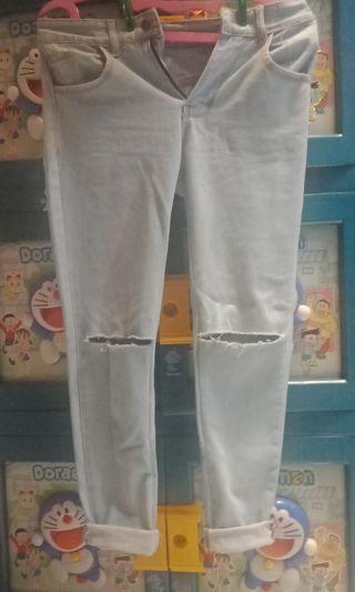 Jeans boyfriend ripped
