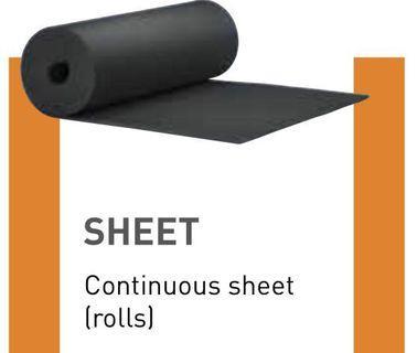 25mm Solar Outdoor Armaflex Insulation Sheet 1m x 4m Long HT-25-99/E