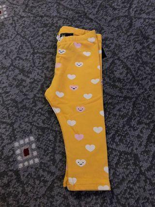 Legging Baby H&M yellow
