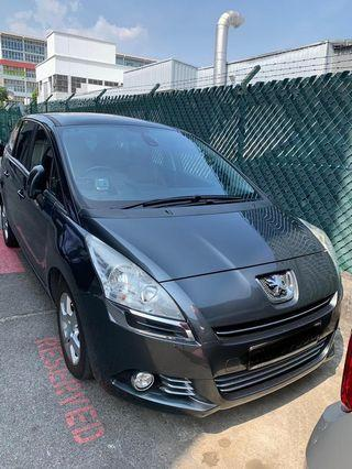 Peugeot 5008 1.6A Turbo Selling at RM8,300