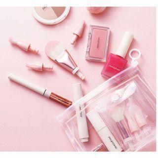 (轉賣)代購購入 innisfree 漸層粉色四件刷具