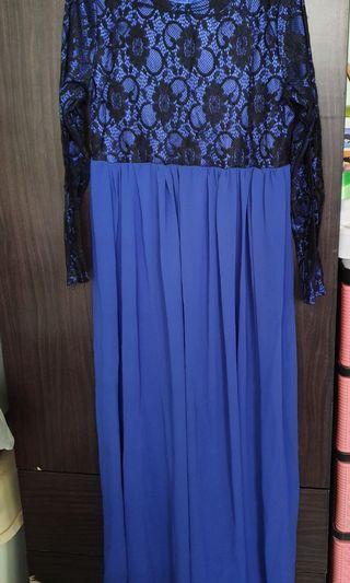 🚚 Blue Long Dress