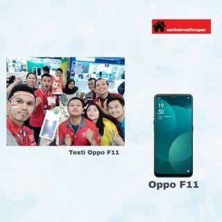 Testi OPPO F11 / Cicilan