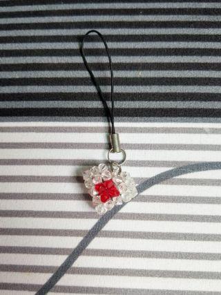 吊飾 手串珠日本心吊飾