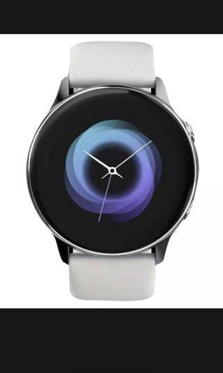 samsung active smartwatch silver