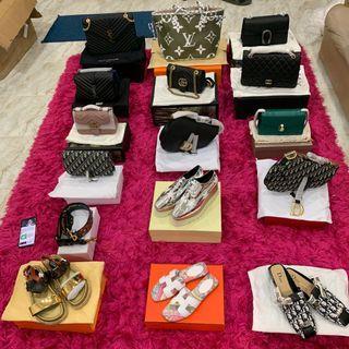 [BEST SELLER!] : Ada semua jenis Handbag Kulit Asli (Luxury Brand) Idaman Anda Gred Premium & gred 1:1