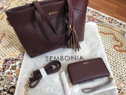 Original Sembonia Handbag and Purse