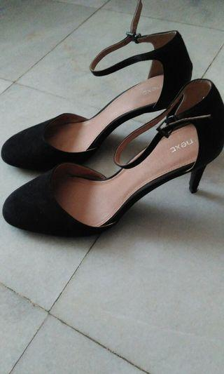 Black ankle strap Next heels shoes