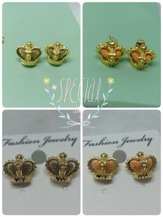 ✨皇室優雅皇冠耳環✨限量販售✨
