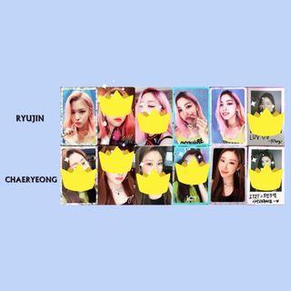 [WTB/Want To Buy] - Ryujin&Chaeryeong  Photocards
