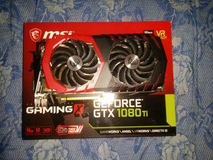 Gtx 1080 ti msi gaming x