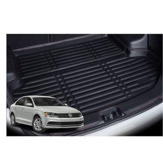 VW Jetta Leather Boot Mat Tray