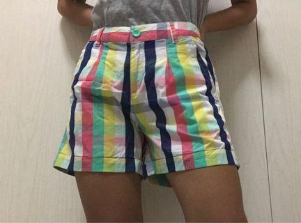 🖤 colorful striped bossini shorts