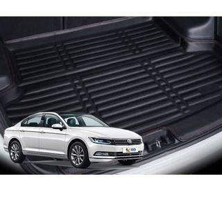 VW Passat Leather Boot Mat Tray