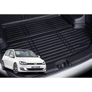 VW Golf Leather Boot Tray Mat