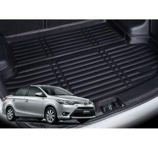 Toyota Vios Leather Boot Mat Tray