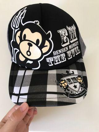 🖤 monkey cap