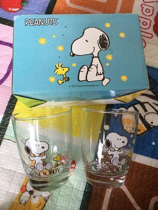 史努比玻璃杯