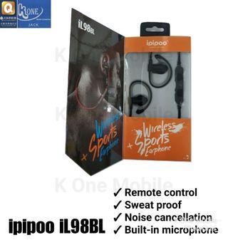 ipipoo iL98BL Sweat Proof Wireless Bluetooth Headset Stereo