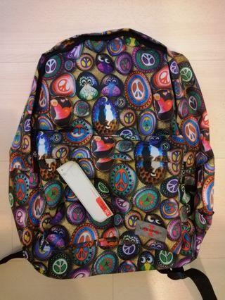 BNWT Unique Psychedelic Backpack A4