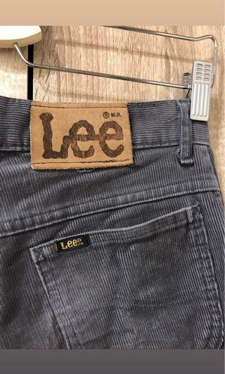 [ 搬家出清 ] 80s Lee 燈芯絨褲 W28 灰色 古著 Levis Vintage