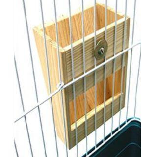 External Mount Wooden Hay Box