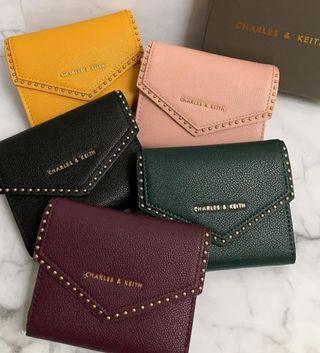 CNK Mini Envelope Studs Wallet