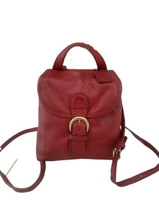 Authentic Coach bagpack