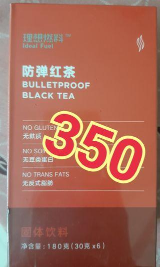全新防彈紅茶(奶茶) 生酮 低醣 30g 6包入一盒 效期至202004 售350元