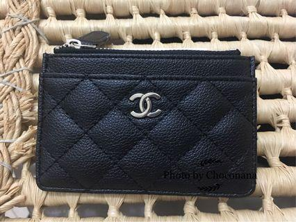 Complimentary Chanel Quilted mini purse cardholder