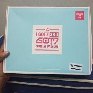 GOT7 IGOT7 3rd Official Fanclub