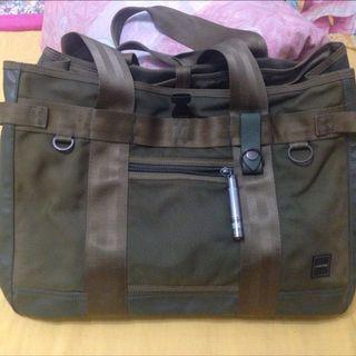 🧡降價換現金❤️PORTER 大包 肩背包 軍綠色 托特包