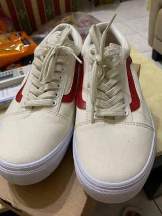 VANS OLD SKOOL 白紅
