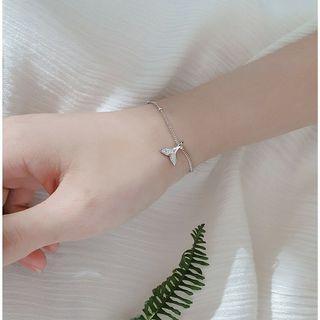 純銀魚尾手鍊 ♥