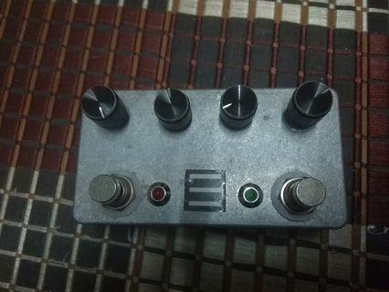Pedal distortion + booster