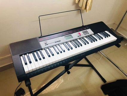 Electronic Keyboard with stand & cover