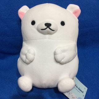 日本north pole animal北極動物娃娃玩偶
