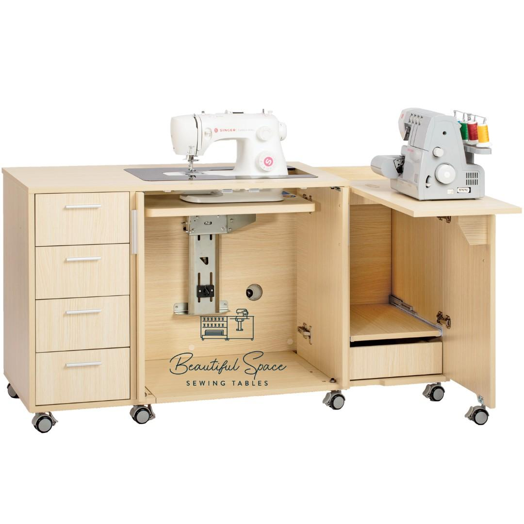 4 0 Beautiful Space Sewing Table Design Craft Craft Supplies