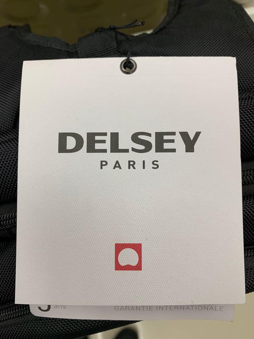 阿豪 Delsey大使牌 多夾層 辦公 可放手提電腦 超輕 男士背囊