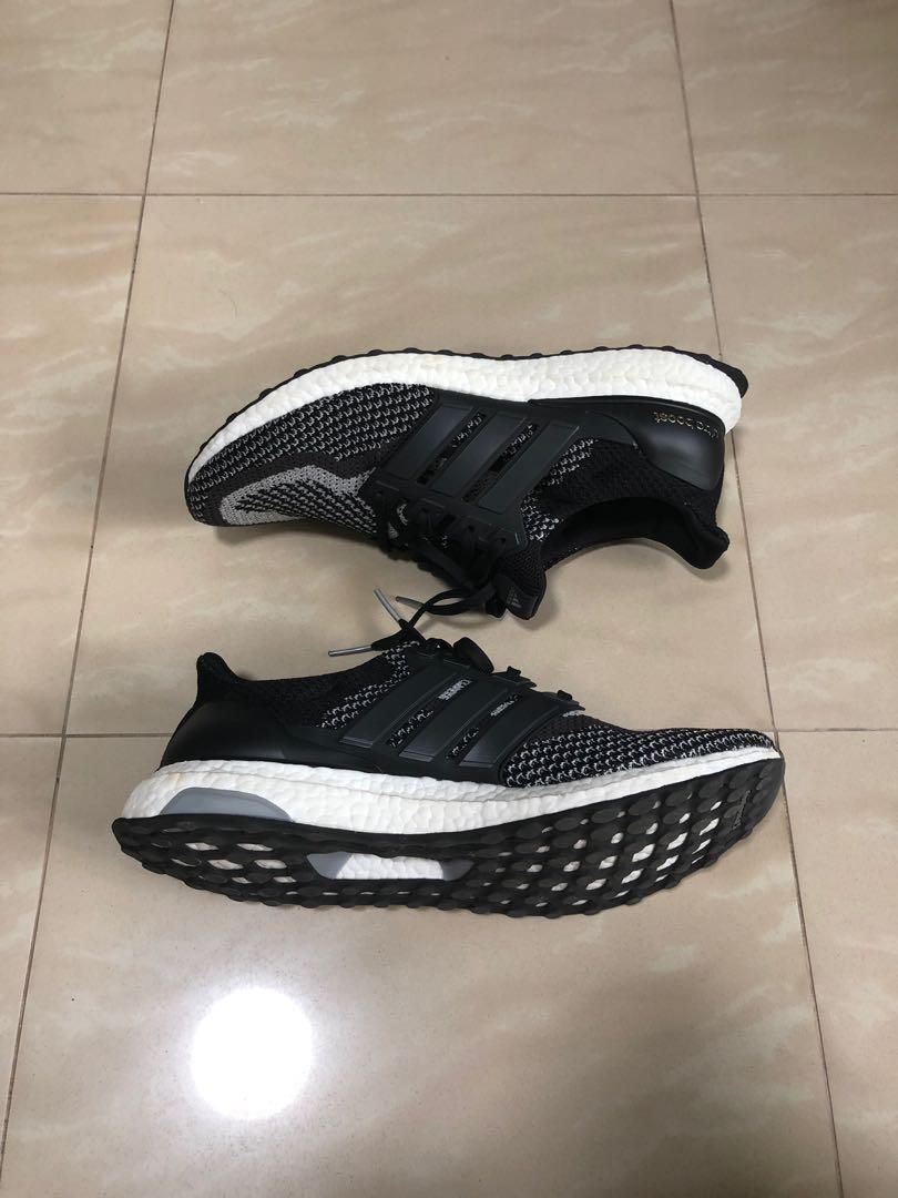Adidas Ultraboost 2.0 Black Reflective ( US 12.5 / UK 12 )