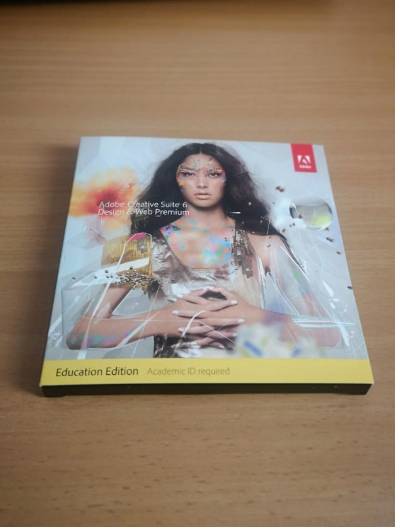 Adobe Cs6 Design And Web Premium For Windows Dvd Pack Electronics Computer Parts Accessories On Carousell