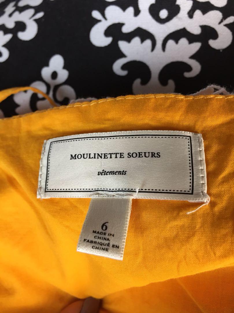 Anthropologie Moulinette Soeurs Melora Dress Size 6