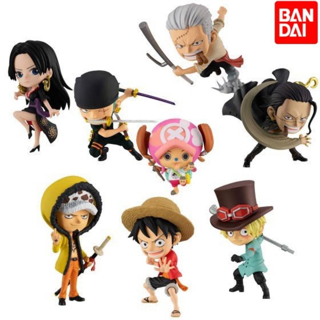 【全新*全套*散買】BANDAI One Piece 食玩 海賊王劇場版ADVERGE路飛 索隆 女帝 喬巴  擺件模型扭蛋玩具擺設