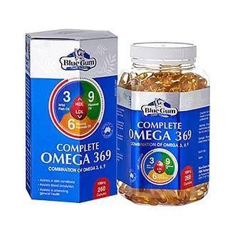 澳洲Blue Gum Omega 3魚油