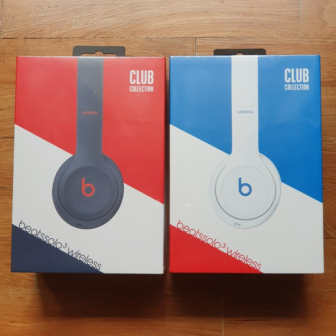 BNIB Beats Solo 3 Wireless (Club Collection)