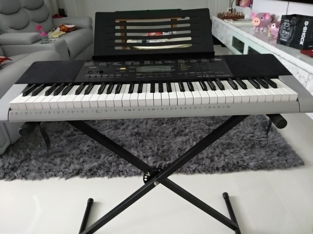 Casio Electronic piano CTK4400