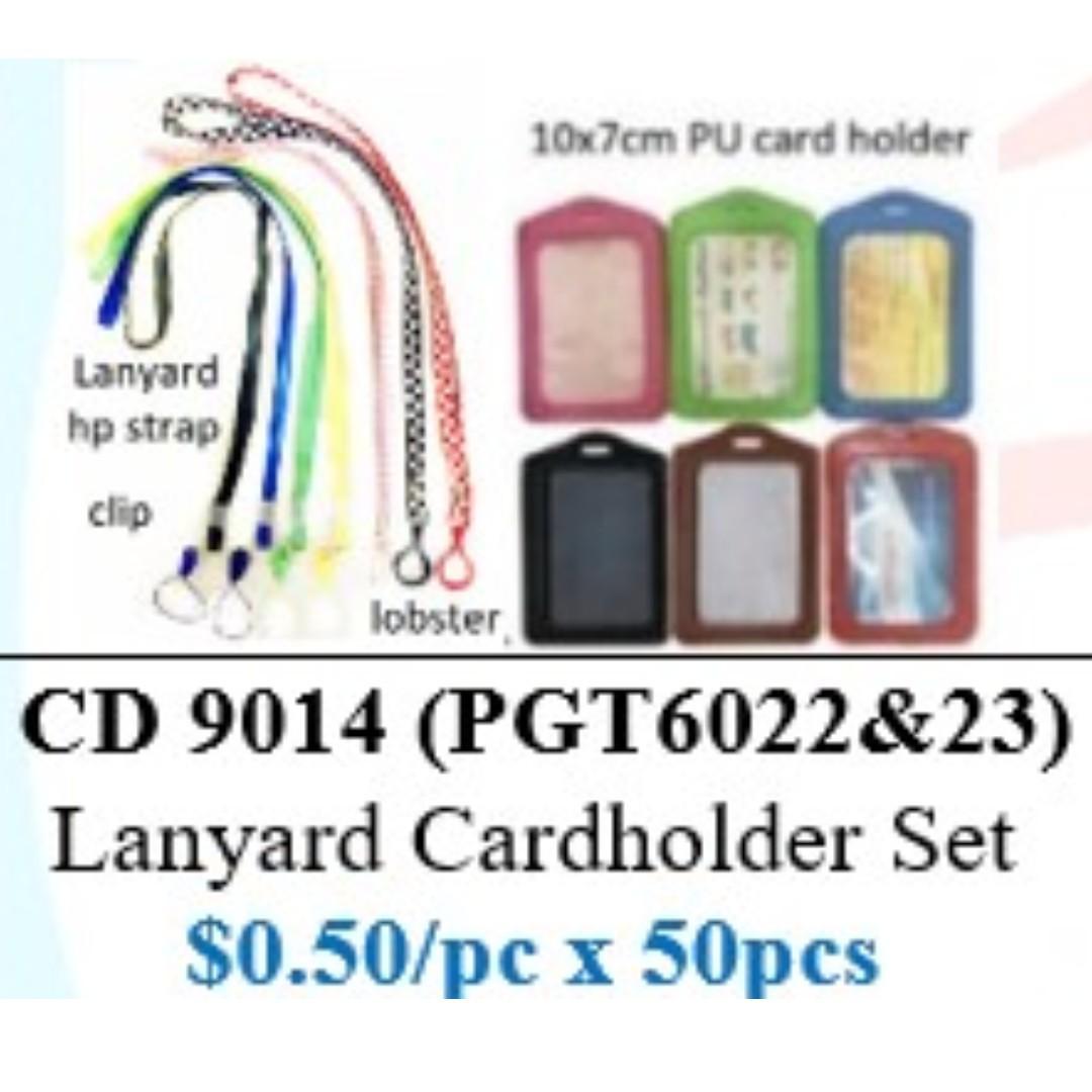 Children's Day Special - Lanyard and Card Holder ($25/50sets bundle) HSEN