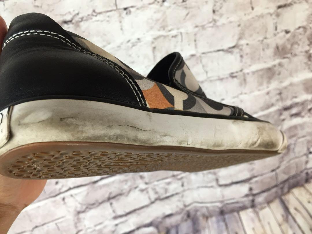 Coach Beale Womens Signature C Slip On Casual Sneakers
