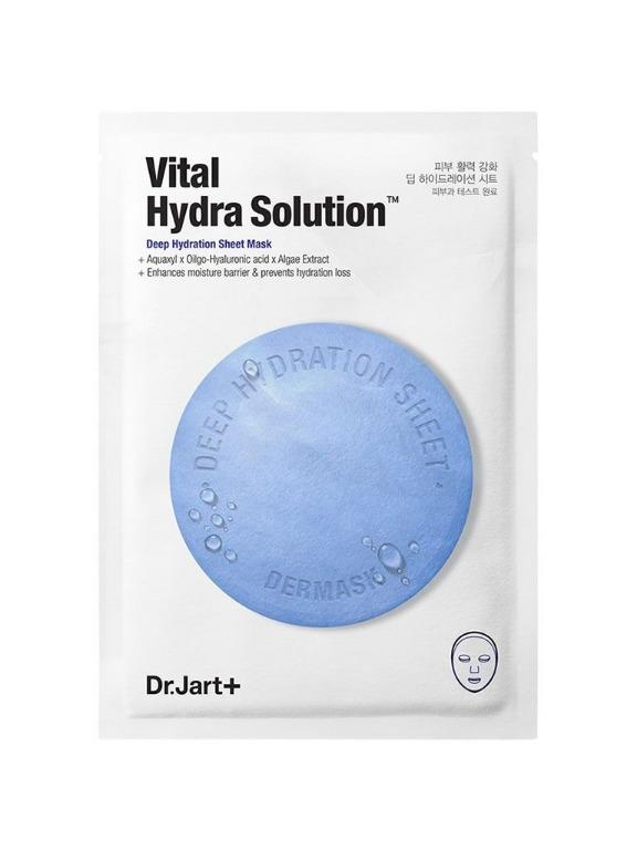 Dr. Jart+ [Dermask Water Jet Vital Hydra Solution Deep Hydration Sheet Mask] 5 pcs
